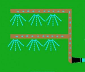 Jardín vertical - riego 2