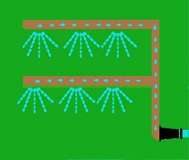 Jardines verticales para fachadas espacios interiores o for Riego jardin vertical