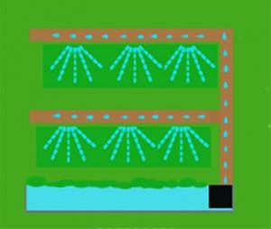 Jardín vertical - riego 3