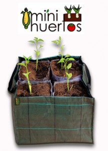 Potager légumes geotextil .60l 45x45x30