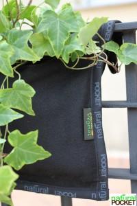 Giardini verticale. Pannello balcone semplice tasca-esterna  Natural PocketSRB25 30