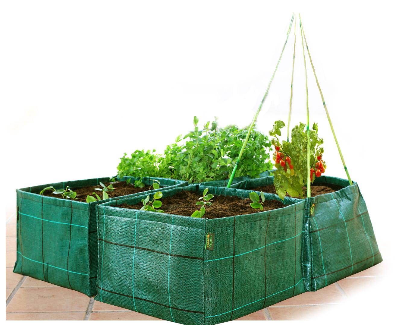 Huerto urbano para plantar en verano